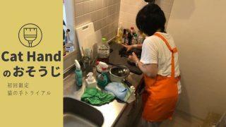 家事代行キャットハンドで水回りを掃除してもらった感想!