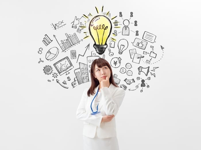 女性アイデアイメージ