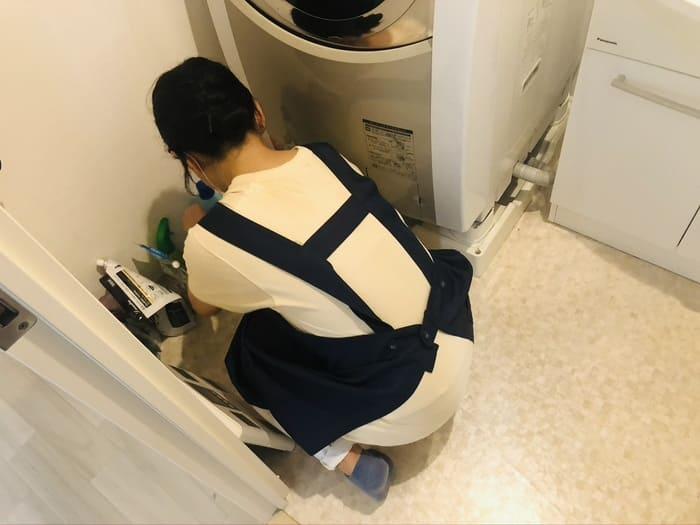 風呂掃除するかじまあるのスタッフ