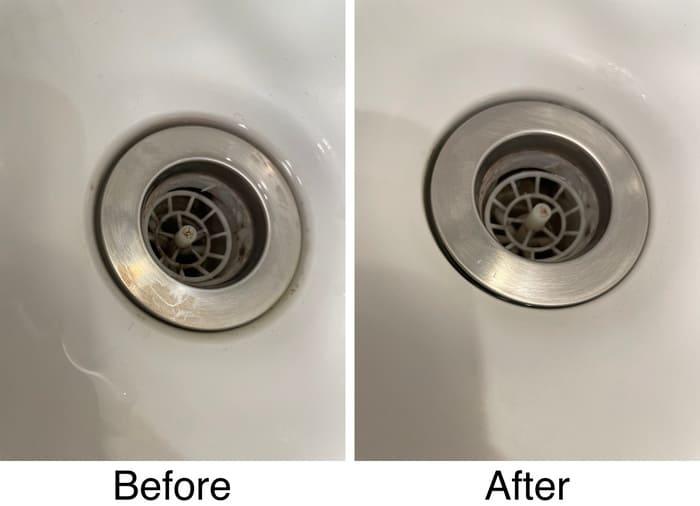 洗面台の排水口