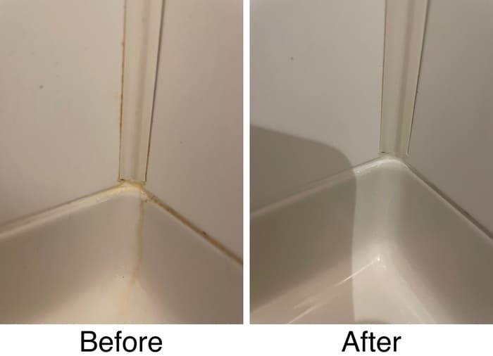浴室のコーナー