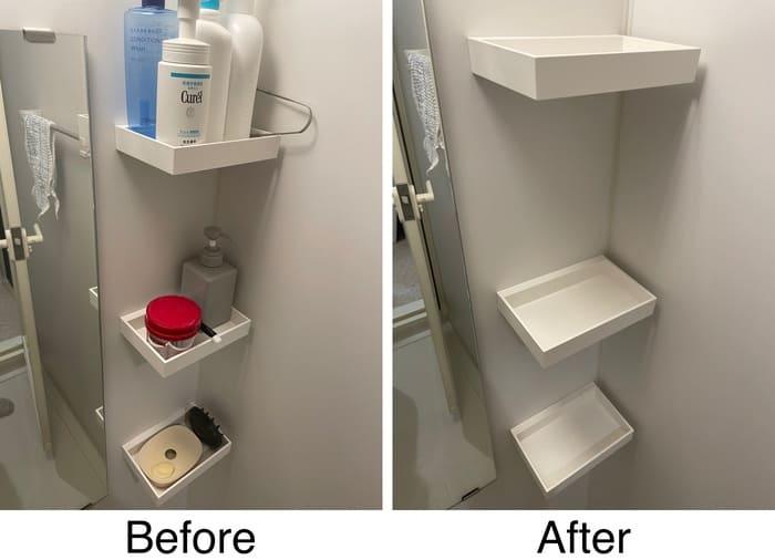 浴室の小物