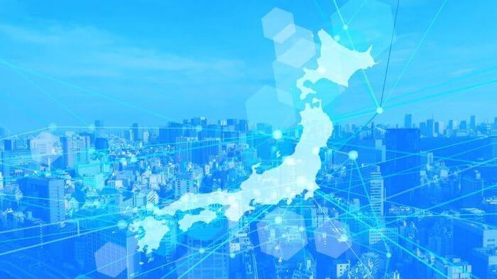 日本のネットワークイメージ