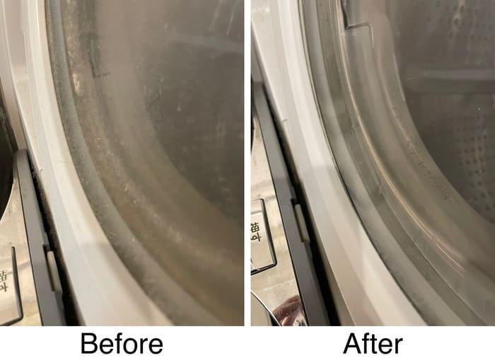 ドラム式洗濯機の内蓋