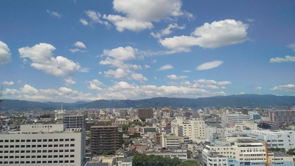 佐賀県庁からの景色